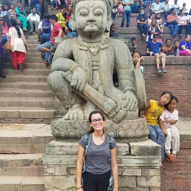 Barbara L in Nepal
